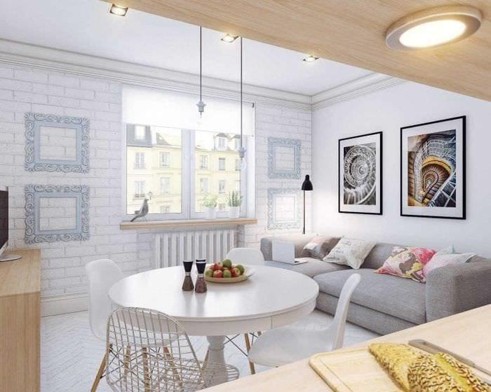 необычный стиль гостиной в шведском стиле