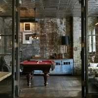 яркий дизайн гостиной в стиле бохо картинка