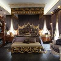 красивый дизайн прихожей в стиле барокко фото