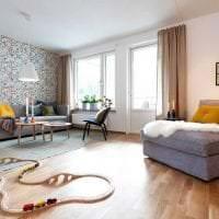 красивый декор спальни в шведском стиле картинка