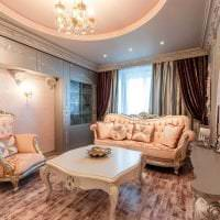 необычный стиль квартиры в стиле барокко картинка