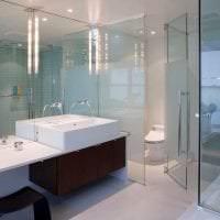 прозрачное стекло в интерьере квартиры фото