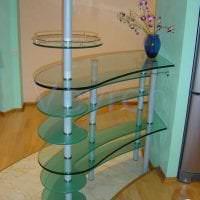 отражающее стекло в стиле коридора картинка
