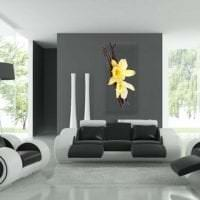 отражающее стекло в стиле квартиры фото