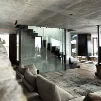 отражающее стекло в декоре дома картинка