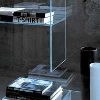 прозрачное стекло в дизайне коридора фото