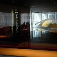 отражающее стекло в интерьере дома фото