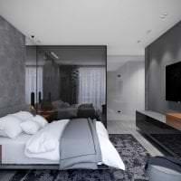отражающее стекло в стиле гостиной фото