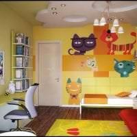 комбинирование красного с другими цветами в интерьере квартиры фото