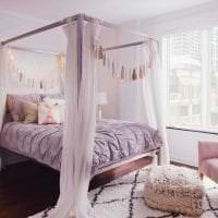 сочетание сиреневого цвета в интерьере квартиры фото