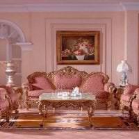 красивый интерьер дома в стиле рококо фото