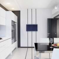 яркая белая мебель в декоре гостиной картинка