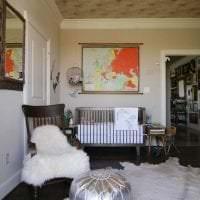 яркий интерьер квартиры в стиле фьюжн фото