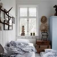 современный стиль спальни в стиле кантри фото