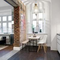 светлый декор гостиной в шведском стиле фото