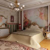 красивый стиль прихожей в стиле барокко картинка