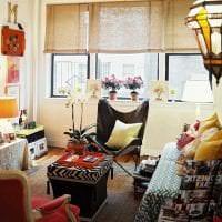 необычный интерьер гостиной в стиле гранж картинка
