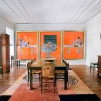 яркий стиль коридора в стиле гранж картинка
