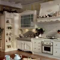 яркий декор кухни в стиле прованс фото