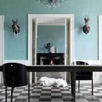 яркий декор гостиной в шведском стиле фото