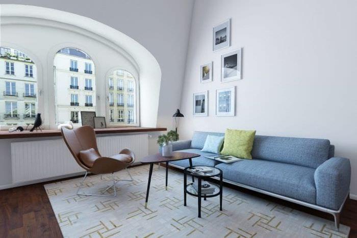 уютный красивый дизайн квартиры