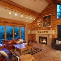 уютный яркий дизайн спальни фото