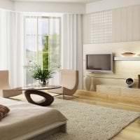 уютный светлый декор гостиной фото