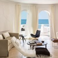 уютный светлый дизайн квартиры картинка