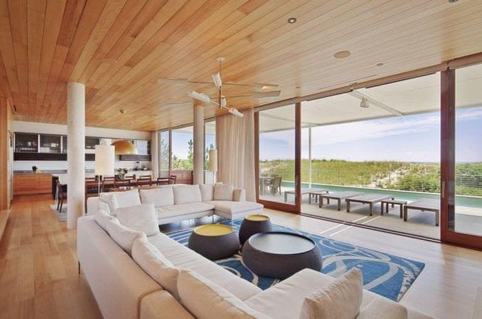 уютный яркий стиль гостиной