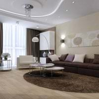 уютный необычный дизайн квартиры картинка