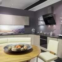 яркая белая мебель в стиле квартиры картинка