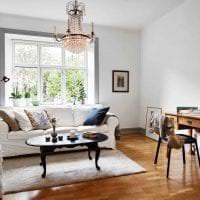 красивый дизайн квартиры в шведском стиле картинка