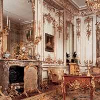 яркий стиль спальни в стиле рококо фото