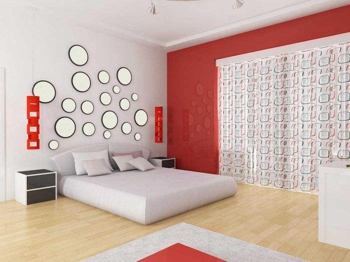светлый декор гостиной в стиле авангард