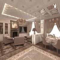 светлый стиль элитной кухни в стиле модерн картинка