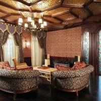 необычный интерьер квартиры в стиле барокко фото