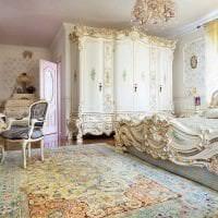 яркий дизайн коридора в стиле барокко картинка