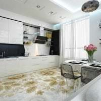 красивый интерьер квартиры в стиле фьюжн картинка