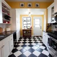 красивый эргономичный стиль кухни фото