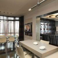 светлый эргономичный дизайн квартиры фото