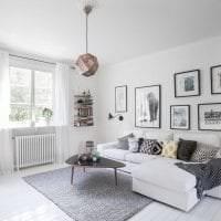 светлый декор квартиры в шведском стиле фото