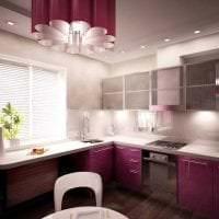 красивый стиль элитной кухни в стиле классика фото