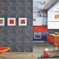 светлый стиль кухни в стиле авангард фото