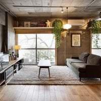 необычный декор спальни в стиле гранж фото