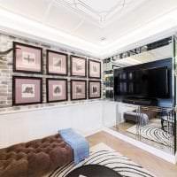 светлый интерьер квартиры в стиле гранж фото
