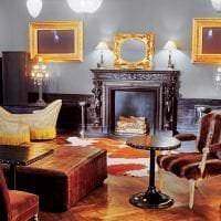 современный дизайн спальни в стиле рококо картинка