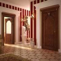 деревянные двери в декоре кухни фото