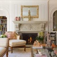 идея яркого декорирования гостиной комнаты своими руками картинка