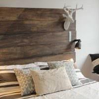 вариант шикарного декора комнаты деревом своими руками фото