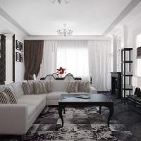 вариант красивого декорирования гостиной своими руками картинка